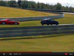 [vidéo pub] Quand Cadillac se dit meilleur que Ferrari