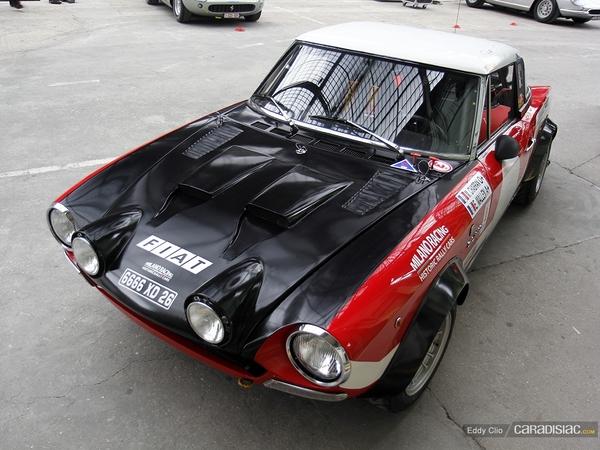 Photos du jour : Fiat 124 Abarth Rally (Tour Auto)