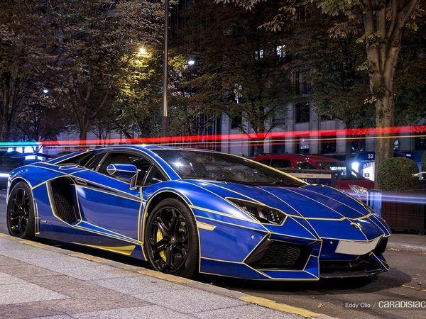 Photos du jour : Lamborghini Aventador Oakley Design