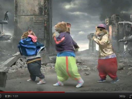 [vidéo pub] Les Hamsters Kia toujours en forme