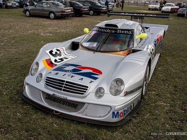 Photos du jour : Mercedes AMG CLK-LM 1998 (Les Grandes Heures de L'Automobile)