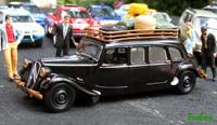 Miniature : 1/43ème - Citroën 11 familiale, taxi de brousse