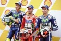 MotoGP - Sepang Qualifications : Dovizioso éclabousse Rossi et Lorenzo
