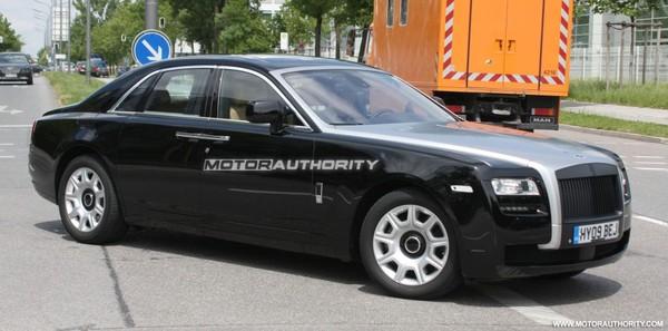 La future Rolls-Royce Ghost encore espionnée