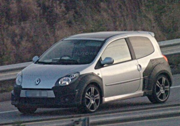 Future Renault Twingo RS en tests intensifs