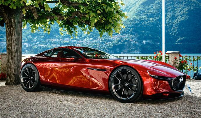 Un coupé Mazda en préparation mais sans moteur rotatif