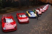 Rumeur : Les Ferrari F40 du meeting japonais seraient la propriété d'un seul homme..