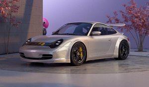 Une Porsche 996 façon électrique Taycan