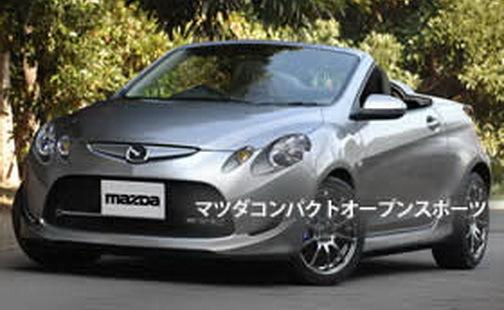 Future Mazda2 roadster: bien sympa!