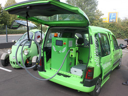 Angel Car, la première station de recharge pour véhicules électriques mobile