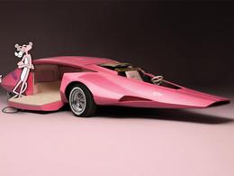 La voiture de la panthère rose bientôt à vendre