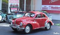 Miniature : 1/43ème - RENAULT 4cv  coupé Mouchiro
