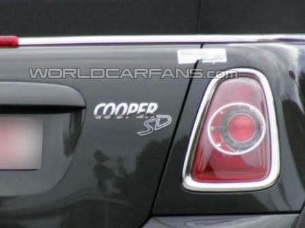 Spyshot : Mini Cooper S Diesel, c'est elle