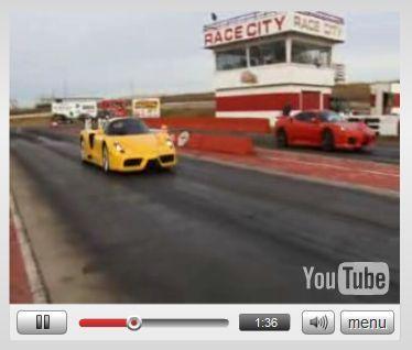 Vidéo: Novitec Rosso F430 Bi-Compressor vs Ferrari Enzo : ça pousse