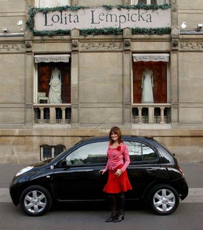 Micra Lolita Lempicka : une série très mode