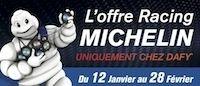 Dafy: des remises jusqu'à fin février pour rouler aux Michelin Power Days