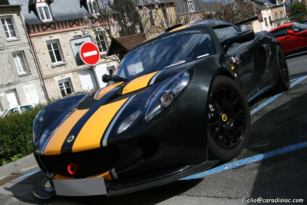 Photos du jour : Lotus Exige S British GT Special Edition