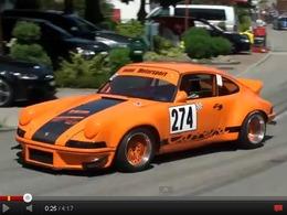 Porsche 911 3,0l RSR en course de côte : le glorieux chant du flat six refroidi par air