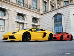 Photo du jour : Lamborghini Aventador