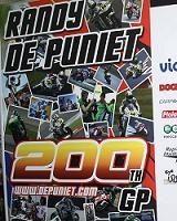Moto GP - Valence: 200 Grands Prix et le dernier avec LCR pour Randy De Puniet