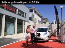 La première LEAF livrée à une famille d'Aix-en-Provence [Rédigé par Nissan]