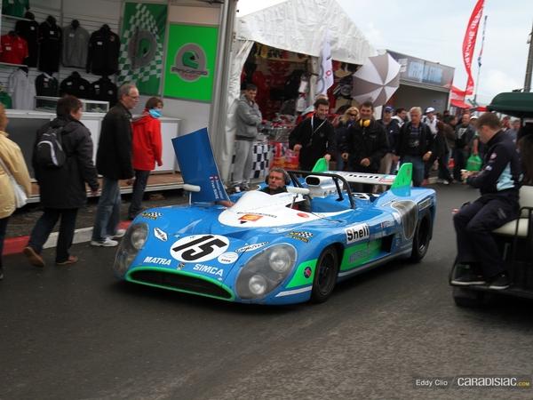 Photos du jour : Matra Simca MS 670 (Le Mans Classic)