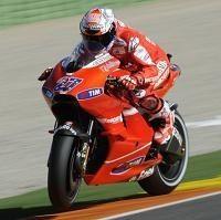 Moto gp - Valence Qualification: Stoner premier pour son dernier avec Ducati