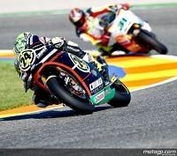 Moto 2 - Valence Qualification: Elias ne lâche pas Moriwaki