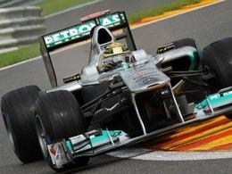 Mercedes et Schumacher ont brillé à Spa