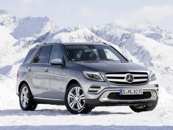 Mercedes ML restylé : comme ça ?