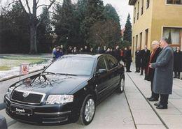 La Skoda Superb, voiture officielle en République Tchèque