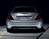 Mercedes SLK 55 AMG Phase II: les photos