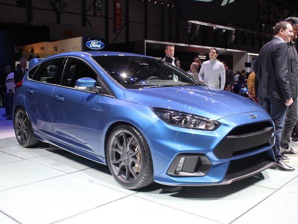 Une Ford Focus RS plus performante au programme ?