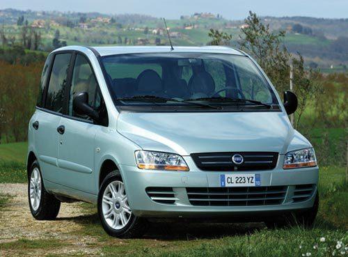 Fiat Multipla : l'originalité en moins