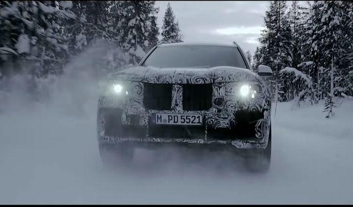 BMW X7 : première vidéo teaser