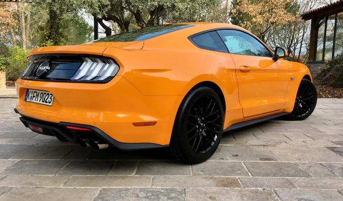 La nouvelle Ford Mustang programmée pour 2022