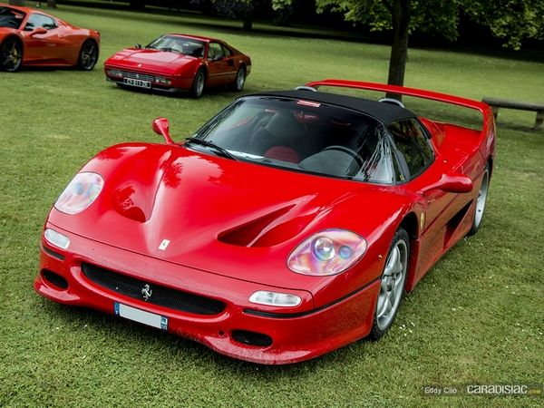 Photos du jour : Ferrari F50 (KBRossocorsaday)