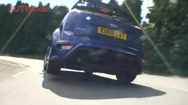 Vidéo : La Focus RS se fait malmener par une voiture mystère !