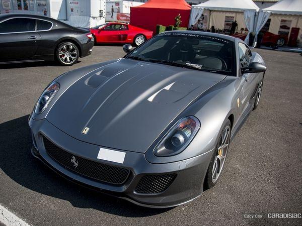Photos du jour : Ferrari 599 GTO (KBRossocorsaday)