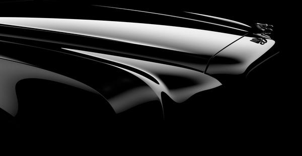 La future Bentley Arnage montre le bout de son nez