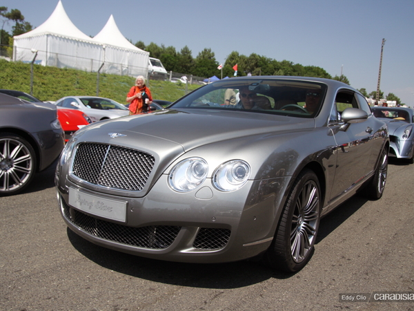 Photos du jour : Bentley Continental GT Flying Star (Le Mans Classic)