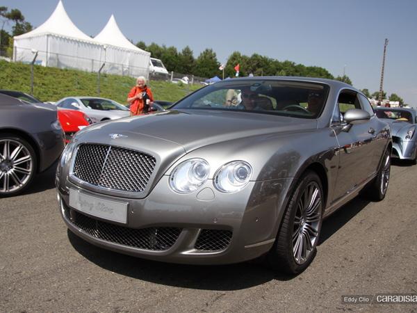 Photos du jour : Bentley Continental GT Flying Star (Le Mans Classic)