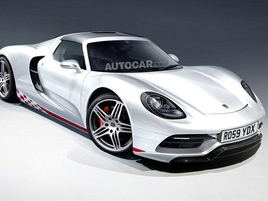 Un huit cylindres à plat pour Porsche? Possible...
