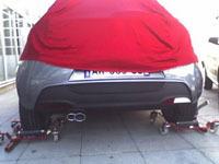 La future Alfa Romeo Junior sous sa bâche?