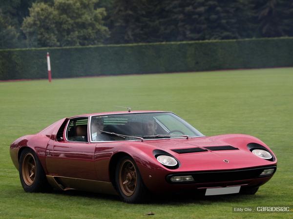 Photos du jour : Lamborghini Miura SV (Le Mans Classic)