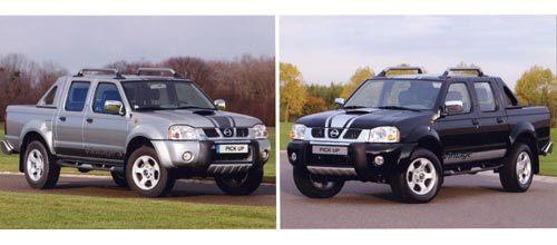 Les séries limitées Vintage et Vintage S du Nissan Pick Up deviennent des finitions