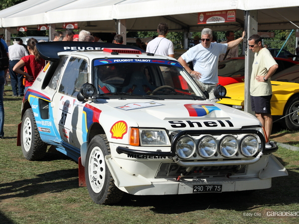 Photos du jour : Peugeot 205 Turbo 16 Rallye (Week-End de l'Excellence de Reims)