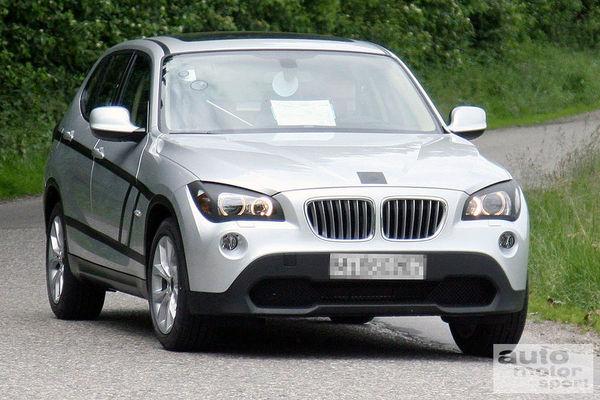 Le futur BMW X1 se démasque