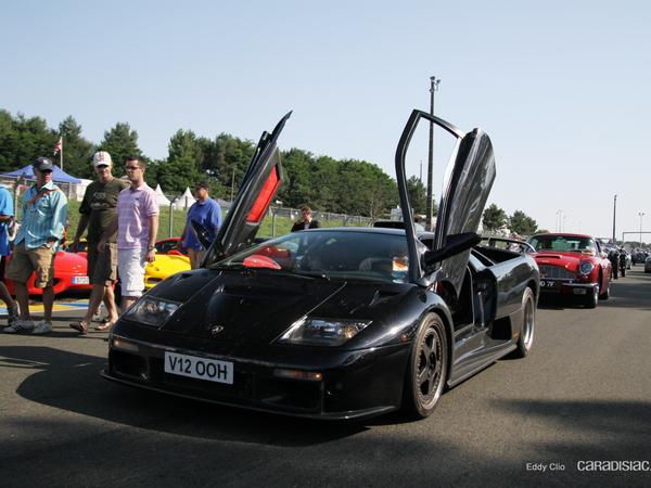 Photos du jour : Lamborghini Diablo GT (Le Mans Classic)