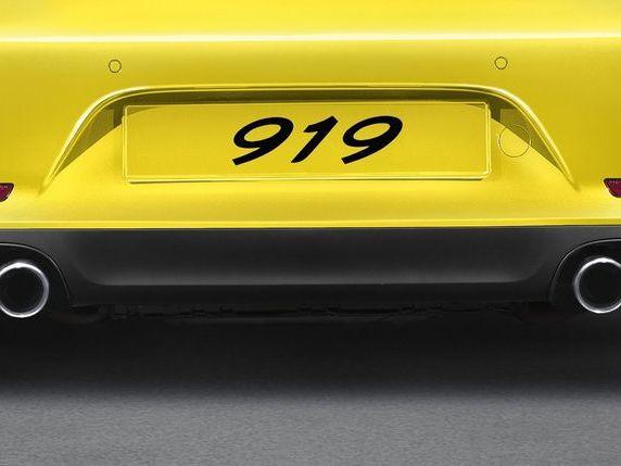 Porsche enregistre le nom '919'